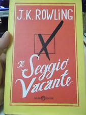 J.K. ROWLING IL SEGGIO VACANTE SALANI EDITORE
