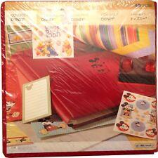 Creative Memories 12x12 Red Disney Mickey Mouse Scrapbook Album 2006 Sealed NIP