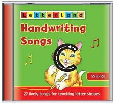 Handwriting Songs (Letterland) New Audio CD Book Lyn Wendon