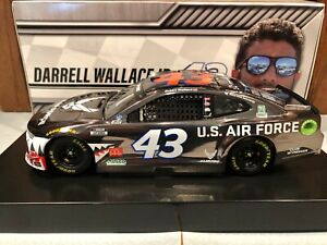2020 Action Bubba Wallace #43 Warthog Air Force 1/24 Color Chrome