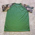 Real Tree Xtreme Tree Trails Camo Base Layer Hunting Running Shirt Mens Size XL