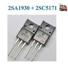 Toshiba 2SA1930 2SC5171 TRANSISTOR Pair NPN and PNP paired Bipolar Tansistors