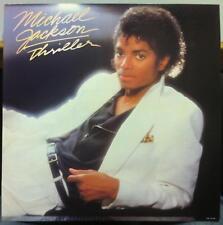 "Michael Jackson thriller 12.25"" Promo 1982 Poster Epic 38112 Rare"