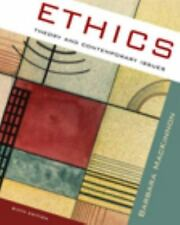 Ethics : Theory and Contemporary Issues by MacKinnon (2008, Paperback)