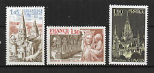 France : 1977 Yvert 1937-1939 ( Série Turistique )  Luxe ( MNH )