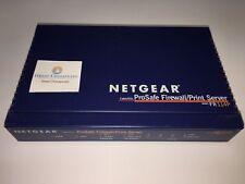 Netgear Fr114P CableDsl 4Port 10/100 Switch ProSafe Firewall Print Server Router