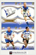2007 Select NRL Invincible Trading Cards Base Team Set Bulldogs (12)