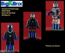 IRON MAN Mark 22 HOT ROD Marvel Custom Printed Lego Minifig No Decals Used!
