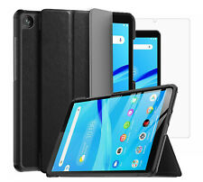 "For Lenovo Tab M8 Smart Case Cover & Glass Screen Protector (8.0"")"