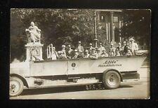 RPPC 1920s? Elite Rundfahrten Peters Union Neat Antique Tour Bus Berlin Germany