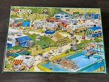 Jan Van Haasteren Puzzle - Camping Chaos 1500 pieces jigsaw