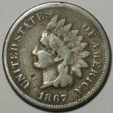 1867 INDIAN HEAD CENT PENNY