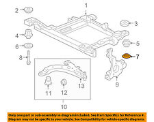 GM OEM Rear Suspension-Susp Crossmember Retainer 11611679