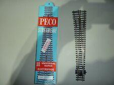 Peco Points OO/HO Gauage Streamline  SL-E89 (Electrofrog) Large Radius L/H MIB