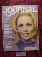 LADIES HOME JOURNAL February Feb 1968 FAYE DUNAWAY KIM PHILBY ALLEN SPRAGGETT