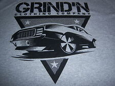 retro art deco HOT ROD MUSCLE CAR t shirt by GRIND'N CLOTHING CO.-NEW NWOT-(2XL)