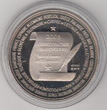 Médaille contemporaine Française Essai La Constitution Européenne 2005