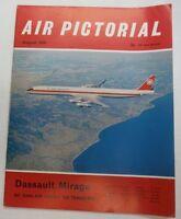 Air Pictorial Magazine Dassault Mirage August 1970 FAL 062215R2