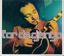 COFFRET DIGIPACK 2 CD 43 TITRES--DJANGO REINHARDT--L'OR DE DJANGO REINHARDT