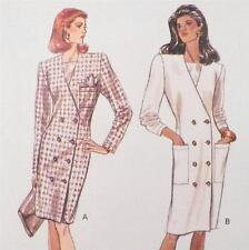 Butterick Coat Dress Sewing Pattern Misses Multi Size 20 22 24 New Old Stock