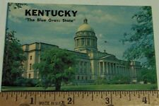 "KENTUCKY  Postcards - Souvenir of the 70's  10 views   4"" mini cards"
