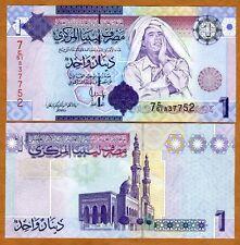 Libya, 1 Dinar, ND (2009), P-71, UNC --> Gaddafi