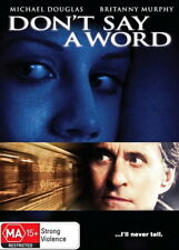 Don't Say A Word - Thriller / Drama - Michael Douglas, Britanny Murphy - NEW DVD