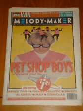 MELODY MAKER 1993 NOV 27 PET SHOP BOYS APHEX TWIN PULP
