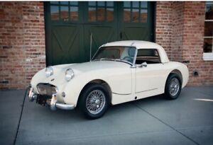 New White Convertible Top Austin Healey Sprite Bugeye 1958-1961 Robbins Made USA