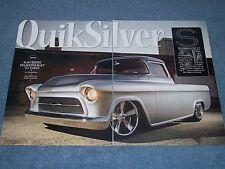"1957 Custom Chevy 3100 Fleetside Pickup Article ""Quiksilver"""
