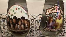 Friends tv show Christmas glassware set