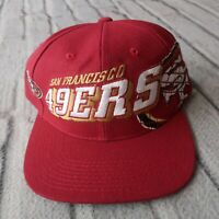 Vintage New San Francisco 49ers Snapback Hat by Sports Specialties Cap
