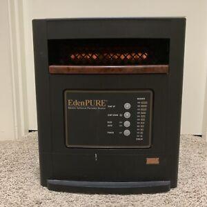 EdenPURE GEN4 A4887/R/RTL Quartz Infrared Portable Heater 1000 watt Tested Works