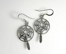 Southwestern Sterling Silver Handcrafted Dangle Earrings