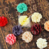 4/12pcs Resin Flatback Cabochons Cameo Flower Embellishments 16x6mm MGRB0534