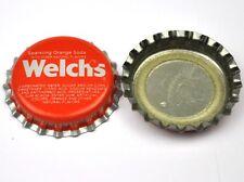 Vintage Coca Cola Di Welch Frizzante Arancione Soda Tappo Bottiglia USA
