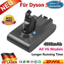 für Dyson V6 Fluffy Akku 21.6V 4000mAh SV03 SV09 DC74 DC62 DC61 DC59 DC58 Vakuum