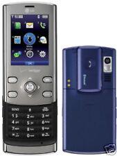 LG Decoy VX8610 BLUE Slider Cell Phone Verizon Network CDMA Bluetooth Headset 3G