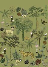 Rasch Tapete 842142 Bambino XVIII Wandbild Tiere Dschungel Kinderzimmer