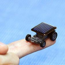 Smallest Solar Powered Robot Racing Car Vehicle Educational Gadget Kids Toy Mini
