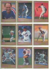 Nolan Ryan 1991 Star Company New York Mets 9-card Nova Series BB Set 23//500