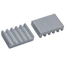 5pcs 8*12*3mm Aluminium Heat Sink For IC Transistor SCR MOSFET Chipset TO-220..