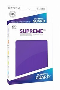 Ultimate Guard Supreme UX Sleeves Japanische Größe Violett (60)