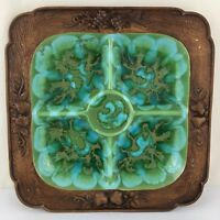 Treasure Craft Ceramic Serving Dish Made in USA