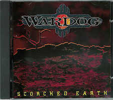 WARDOG - Scorched Earth /  NEUWARE - CD , new !  POWERMETAL vom Feinsten !