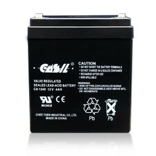 CASIL CA-1240 12V 4AH SLA Battery for Casil Ca1240 Alarm Control System