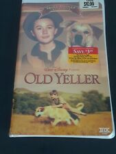 Walt Disney Old Yeller (VHS, 2002) New Factory Sealed