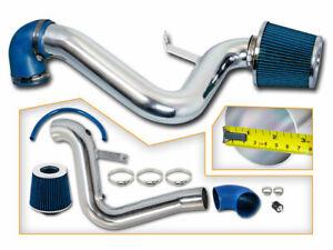 BCP BLUE 96-98 Pontiac Grand AM 2.4L L4 Cold Air Intake Racing System + Filter