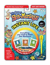Instant Life THE AMAZING LIVE SEA MONKEYS Pets EGGS FOOD Aquarium Refill kit