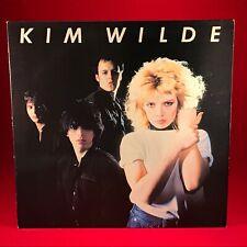 KIM WILDE Kim Wilde 1981 UK vinyl LP EXCELLENT CONDITION debut Kids In America #